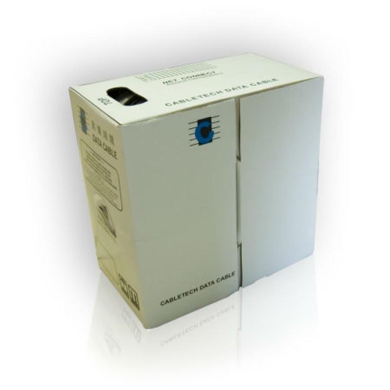 Cablu FTP Cabletech, rigid, 4x2/0.5 mm, rola 305 m 2021 shopu.ro