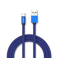 Cablu Micro USB Ruby Edition, 1 m, 2.4 A, Albastru