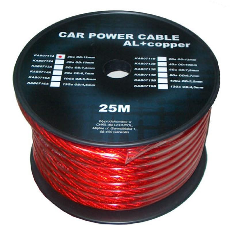 Cablu putere CU-AL Peiying, 7.8 mm, 25 m 2021 shopu.ro