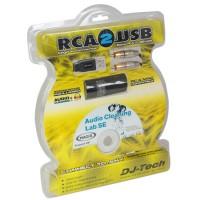Cablu RCA-USB, lungime 1.2 m, sistem integrat analogic-digital