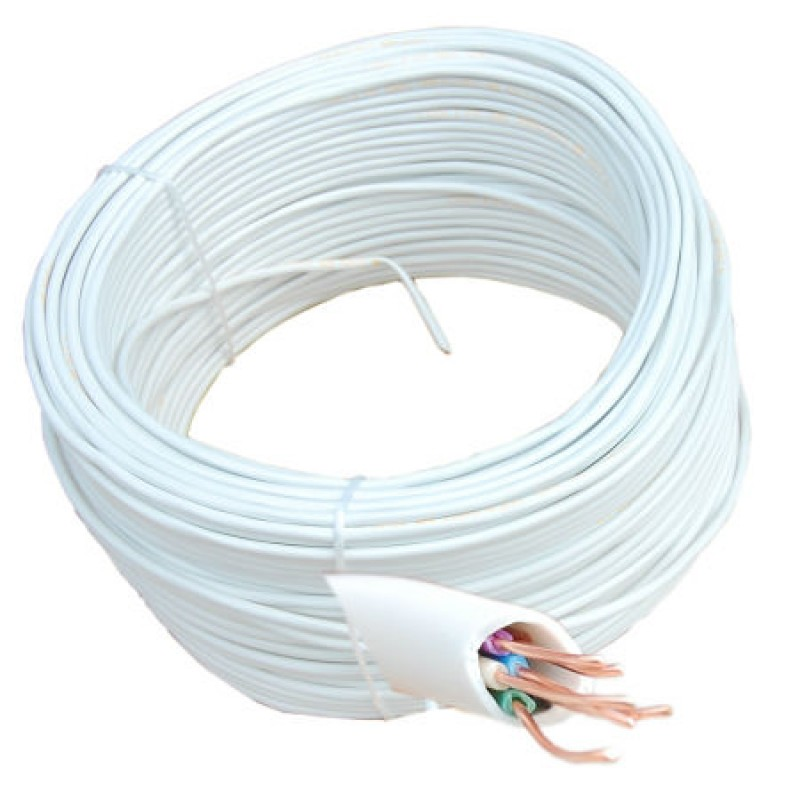 Cablu telefon/alarma YTDY Cabletech, 6 fire, rola 100 m 2021 shopu.ro