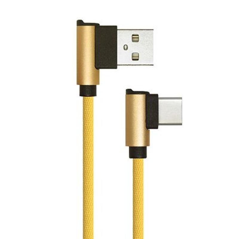 Cablu USB - Type C Diamon Edition, 1 m, Auriu 2021 shopu.ro
