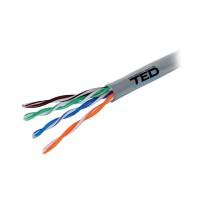 Cablu UTP Ted Electric, 0.5 mm, 305 m, categoria 5
