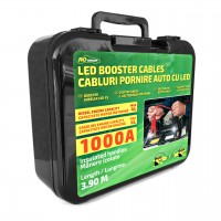 Cabluri pornire auto RoGroup, cu LED integrat, 1000A, 3.5 m