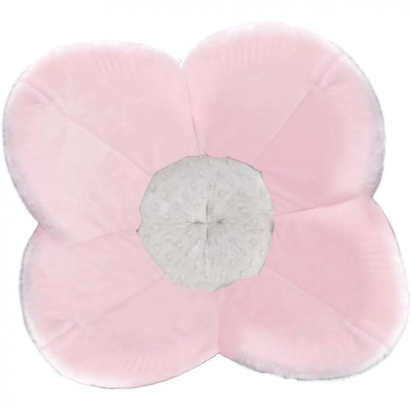 Cadita Poppy BloomingBath, 76 cm, plus, tip saltea de joaca, 0 luni+, Roz 2021 shopu.ro
