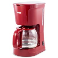 Cafetiera Zass Red Line, 1000 W, 1.5 L, capacitate 12 cesti, indicator nivel apa, functie antipicurare