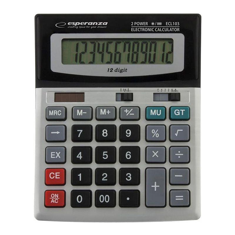 Calculator birou Euler Esperanza, display mare, 12 cifre 2021 shopu.ro