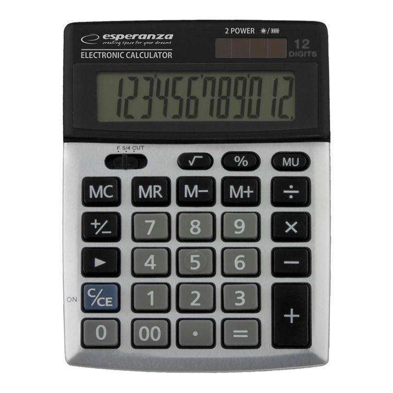 Calculator birou Newton Esperanza, display mare, 12 cifre 2021 shopu.ro