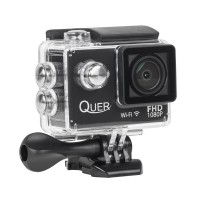 Camera actiune Quer Black, FullHD, micro USB, rezistenta la apa