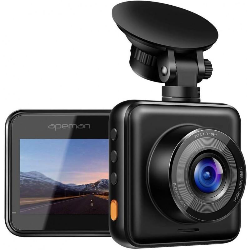 Camera auto DVR Apeman C420, display TFT, 180 mAh, Full HD, unghi 170 grade, G-Sensor, mod parcare 2021 shopu.ro
