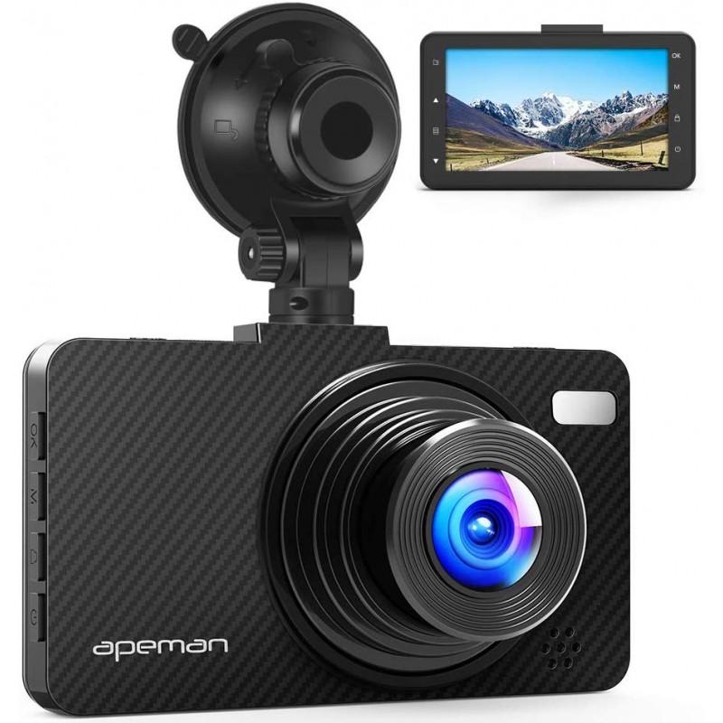 Camera auto DVR Apeman C450, Full HD, unghi 170 grade, G-Sensor, mod parcare 2021 shopu.ro