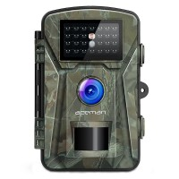 Camera vanatoare Apeman H45, 16 MP, full HD, 2.4 inch LCD , 940 nm, filtru IR, senzor de miscare, night vision, 26 senzori