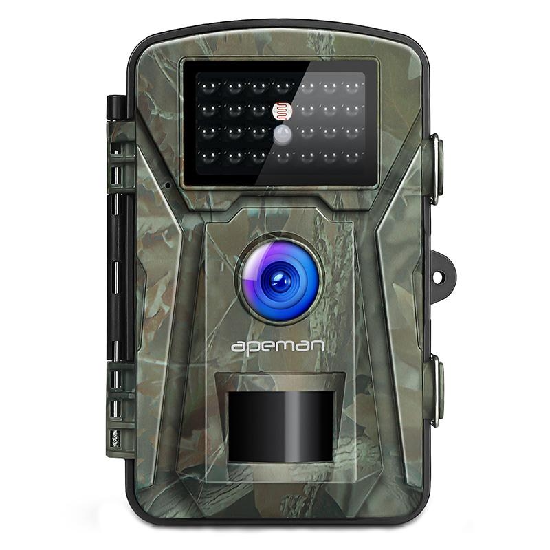 Camera vanatoare Apeman H45, 16 MP, full HD, 2.4 inch LCD , 940 nm, filtru IR, senzor de miscare, night vision, 26 senzori 2021 shopu.ro
