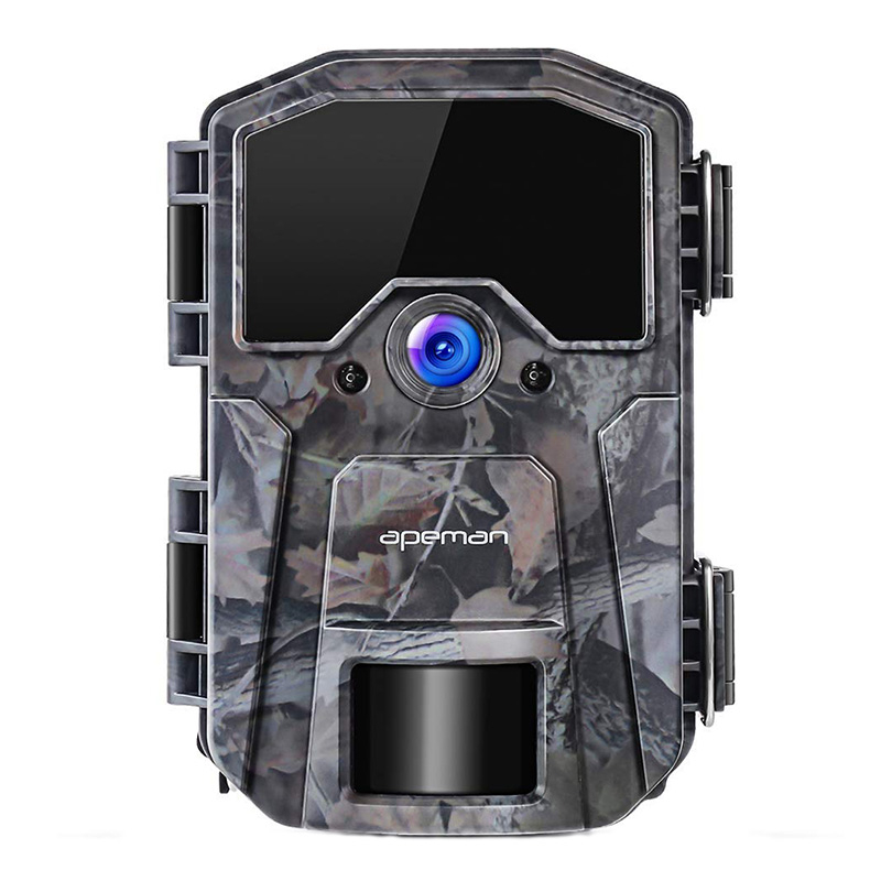 Camera vanatoare Apeman H55, 20 MP, full HD, LCD , 850 nm, senzor de miscare, night vision, 40 senzori 2021 shopu.ro
