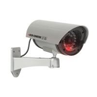 Camera supraveghere falsa Deligt, 210 x 140 x 80 mm, 2 x 1.5 V AA, plastic, Argintiu