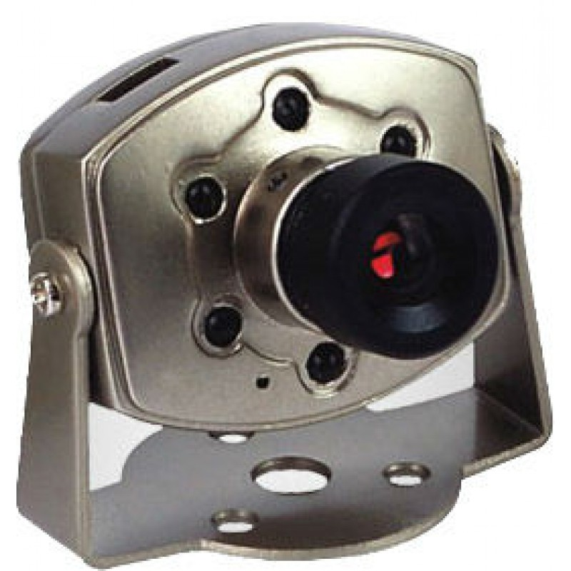 Camera supraveghere JK805, 9 V, 200 mW, 380 linii TV, 72 Ohm, 40 dB, senzor CMOS