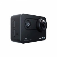 Camera video sport 4 K VanTop Moment, 60 fps, Senzor Sony IMX078, Wi-Fi, EIS incorporat, Touch Screen, 2 acumulatori