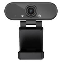 Camera Web In One, 1080P, 7.5 x 9 x 4.5 cm, usb 2.0, FullHD, trepied inclus, Negru