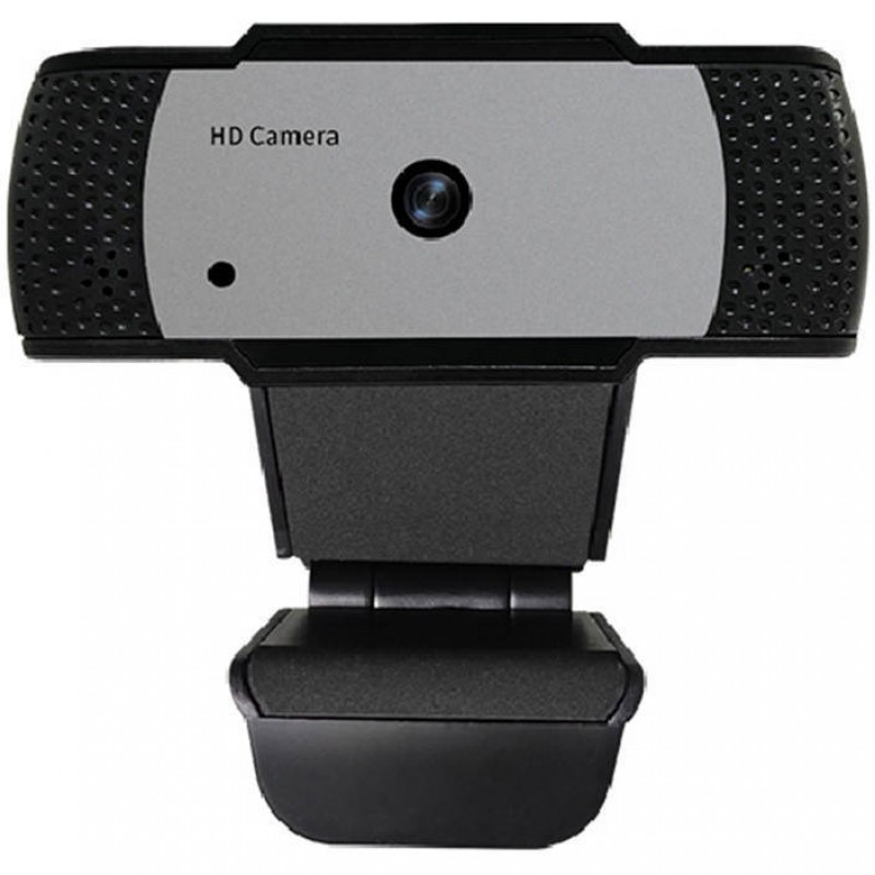 Camera web In One, 5 MP, USB 2.0, FullHD, trepied inclus, autofocus, microfon incorporat, Negru 2021 shopu.ro