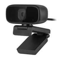 Camera Web Rebel, 720p, 1280 x 720 px, format MP4, 30 FPS, cablu 1.1 m, baza reglabila, Negru