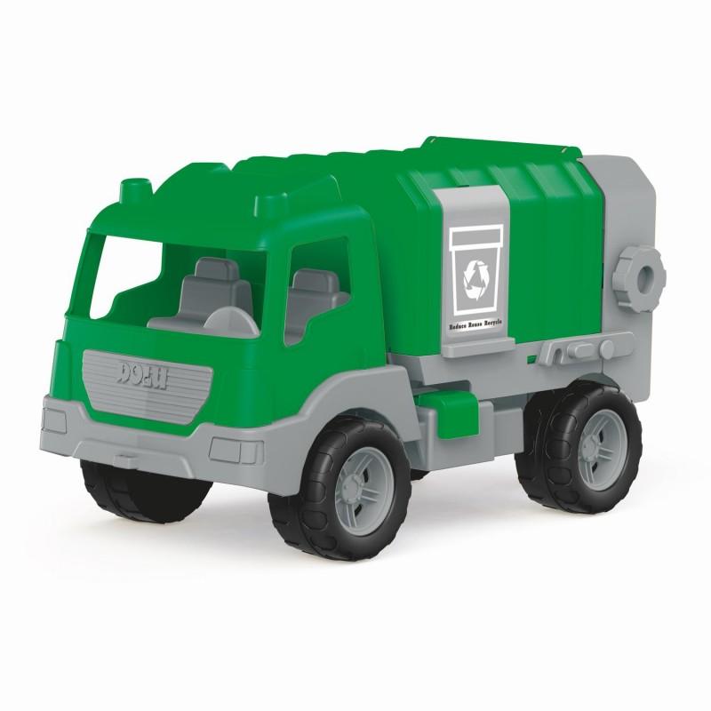 Camion de gunoi Dolu, incarcatorul din spate este functional, 43 cm 2021 shopu.ro