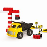 Camion si cuburi de construit, 40 piese, 20 x 12 x 11.5 cm