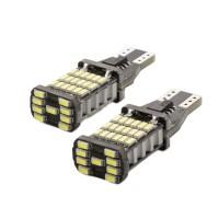 Set 2 becuri LED pentru iluminat interior/portbagaj Carguard, 5 W, 12 V, 450 lm, T10, Alb