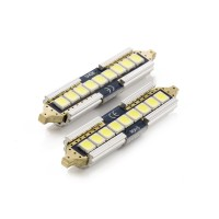 Set 2 becuri LED pentru iluminat interior/portbagaj Carguard, 5 W, 12 V, 650 lm, filament 41 mm, Alb