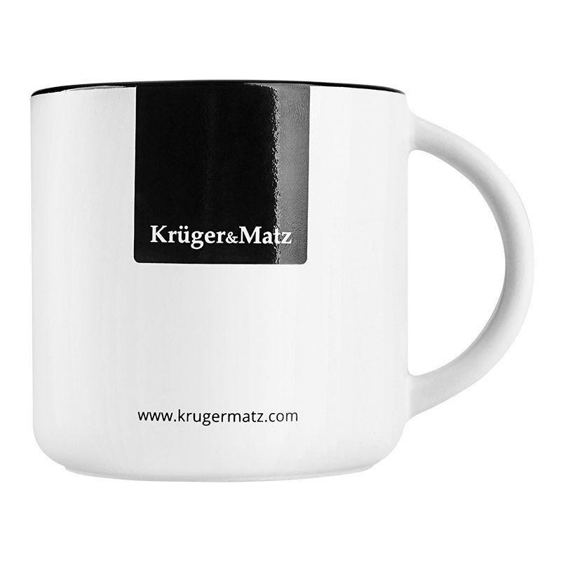 Cana ceramica Kruger & Matz, 350 ml 2021 shopu.ro