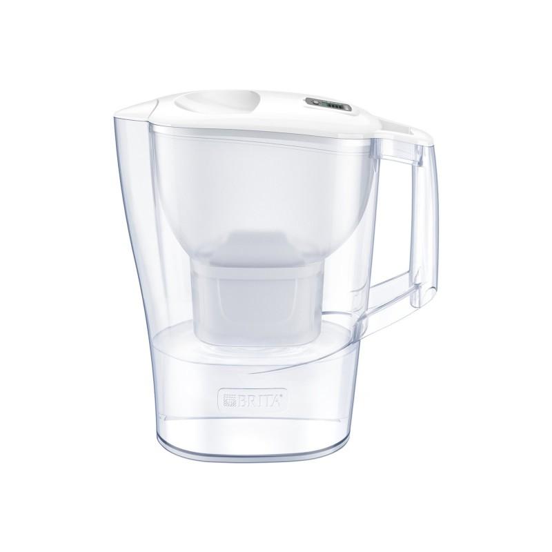 Cana filtranta BRITA Aluna Maxtra+, 2.4 L, cartus filtrant, indicator memo, plastic, White 2021 shopu.ro