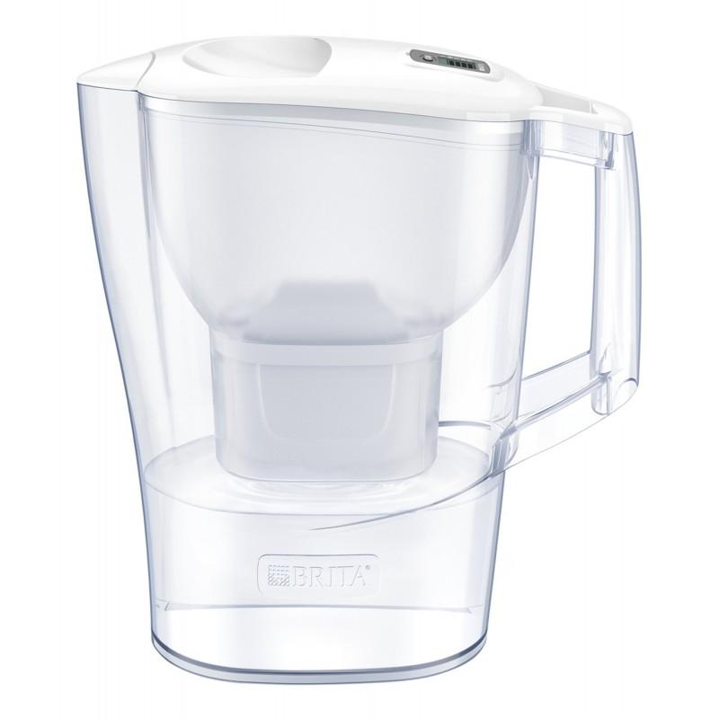 Cana filtranta BRITA Aluna XL Maxtra+, 3.5 L, cartus filtrant, indicator memo, plastic, White 2021 shopu.ro