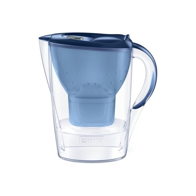 Cana filtranta BRITA Marella Maxtra+, 2.4 L, cartus filtrant, indicator memo, plastic, Blue 2021 shopu.ro