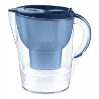 Cana filtranta BRITA Marella XL Maxtra+, 3.5 L, cartus filtrant, indicator memo, plastic, Blue