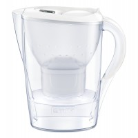 Cana filtranta BRITA Marella XL Maxtra+, 3.5 L, cartus filtrant, indcator memo, plastic, White