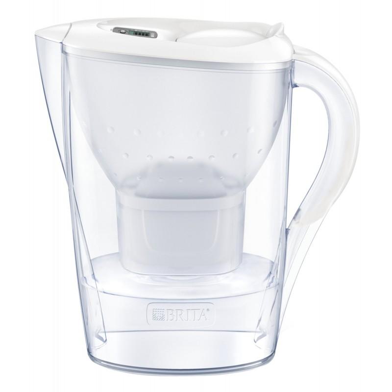 Cana filtranta BRITA Marella XL Maxtra+, 3.5 L, cartus filtrant, indcator memo, plastic, White 2021 shopu.ro