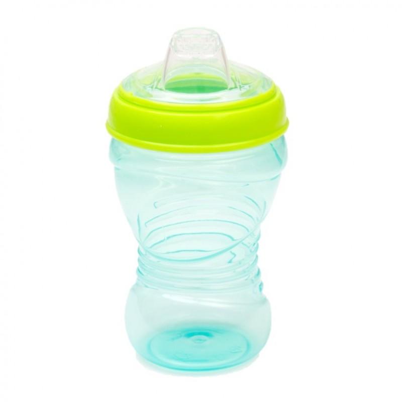 Cana KidiSipper Gripper Vital Baby, 300 ml, 9 luni+, albastru 2021 shopu.ro