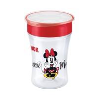 Cana Magic Mickey Nuk, 230 ml, polipropilena, 8 luni+, Rosu