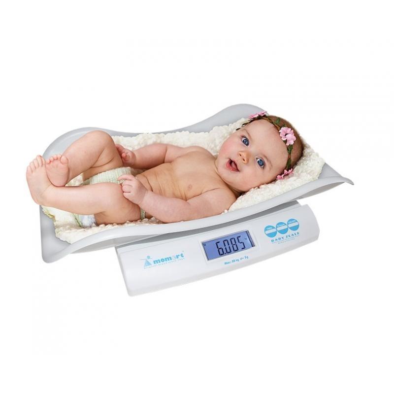 Cantar digital bebelusi Momert, functie hold, ecran LCD, maxim 20 kg, 0 luni+ 2021 shopu.ro