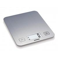 Cantar de bucatarie Heinner, inox, maxim 5 kg, display LCD, gradare 1 g, gunctie Tara, Argintiu