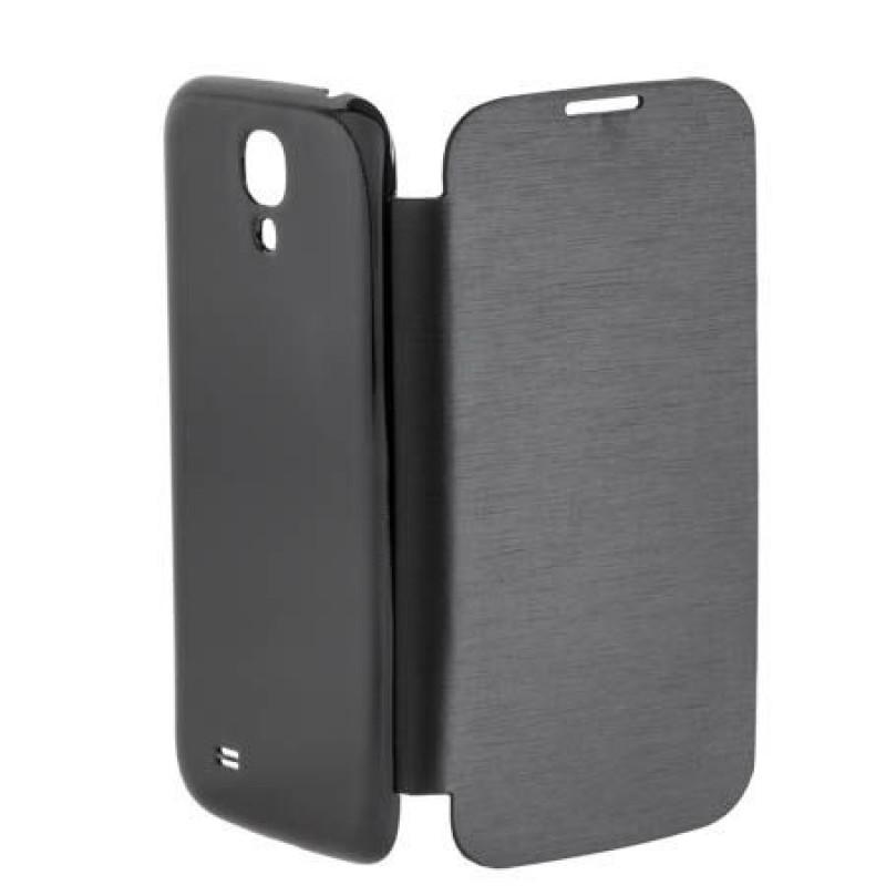 Husa tip flip book pentru telefon Samsung Galaxy S4 M-Life, Gri