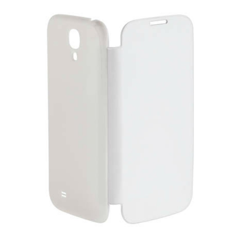 Husa tip flip book pentru telefon Samsung Galaxy S4 M-Life, Alb