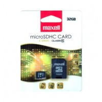 Card microSDHC Maxell, 32 GB, seria X, clasa 10