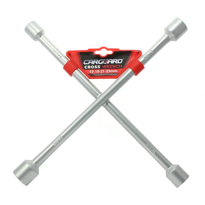 Cheie in cruce pentru roata Carguard, 355 x 17-23 mm 2021 shopu.ro
