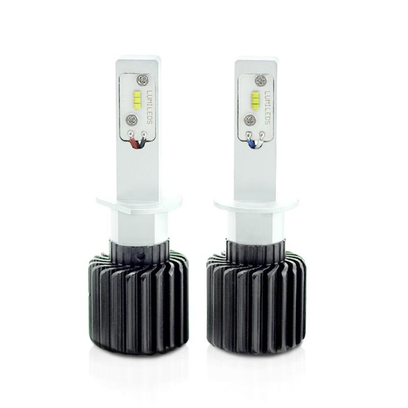 Bec LED pentru faruri Carguard, 4000 lm, soclu H1, Alb 2021 shopu.ro