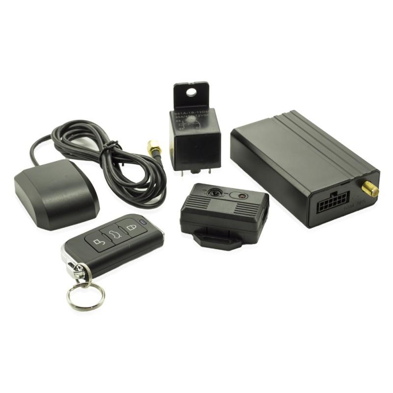 Sistem de alarma cu GPS Carguard, 9-55 V, 250 mAh, 82 x 50 x 25 mm, senzor soc reglabil 2021 shopu.ro