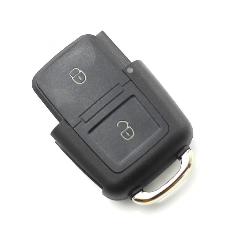 Carcasa cheie Volkswagen Carguard, 2 butoane, tip briceag, model 2, Negru 2021 shopu.ro