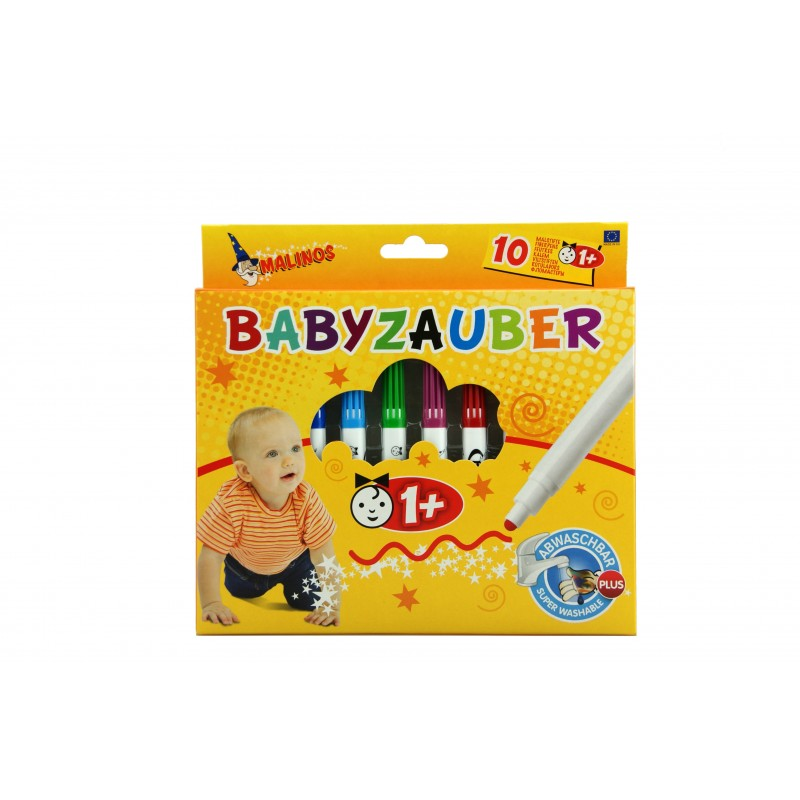 Carioci pentru bebelusi Malinos, 10 bucati, non-toxice 2021 shopu.ro