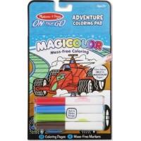 Carnet  jocuri si aventuri Magicolor, Melissa and Doug, 18 pagini