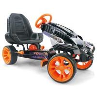 Kart pentru copii Hauck Nerf Battle Racer, scaun ergonomic, frana de mana