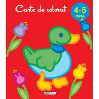 Carte de colorat Girasol, 4-5 ani